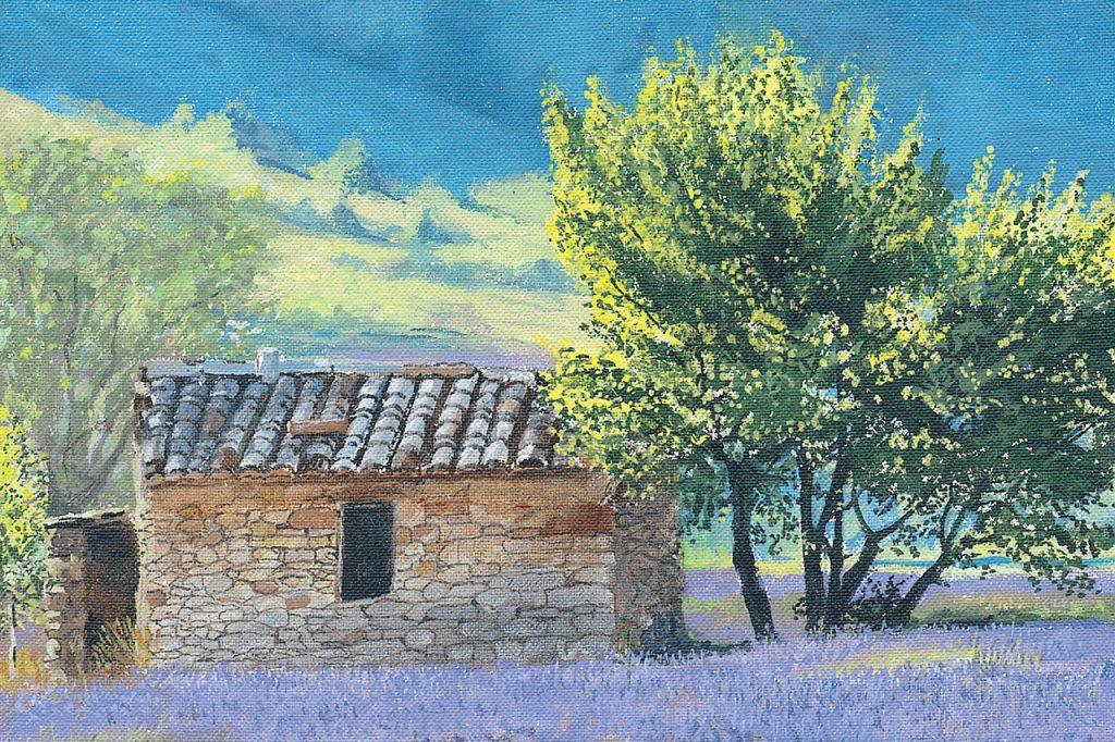 Shepherd's hut, France