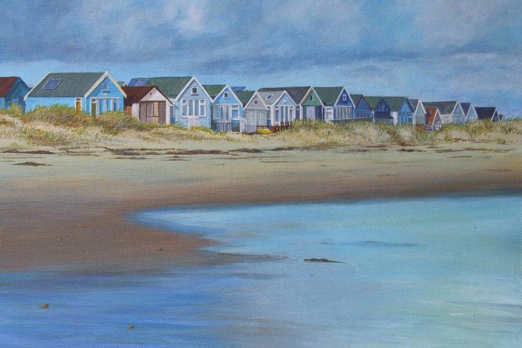 Hengistbury beach huts