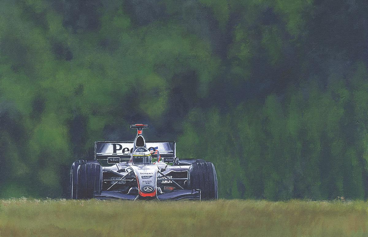 Maclarens racing car