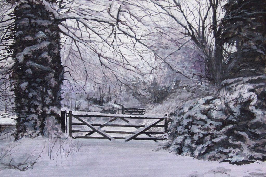 Snowscene St Giles