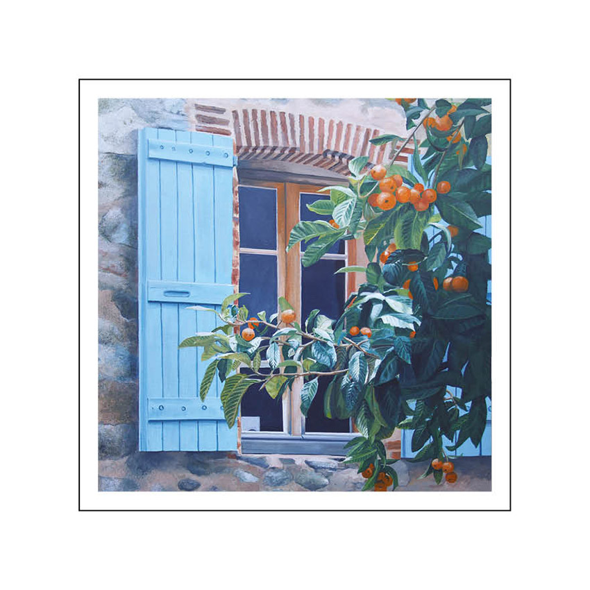 9. Oranges and shutters