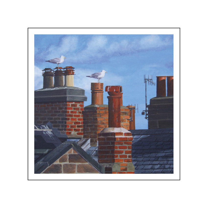 9B. Whitby rooftops
