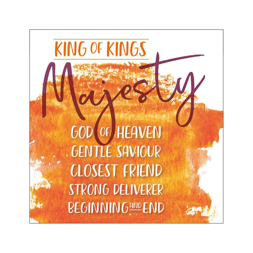 15. King of kings, Majesty